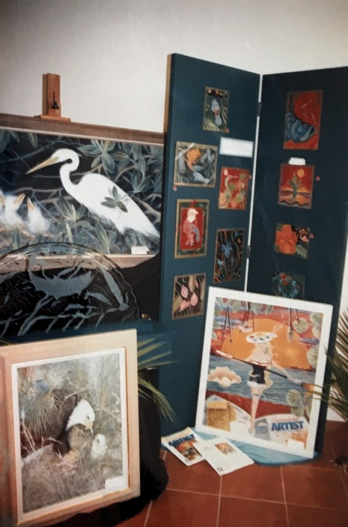 1993 tropical art