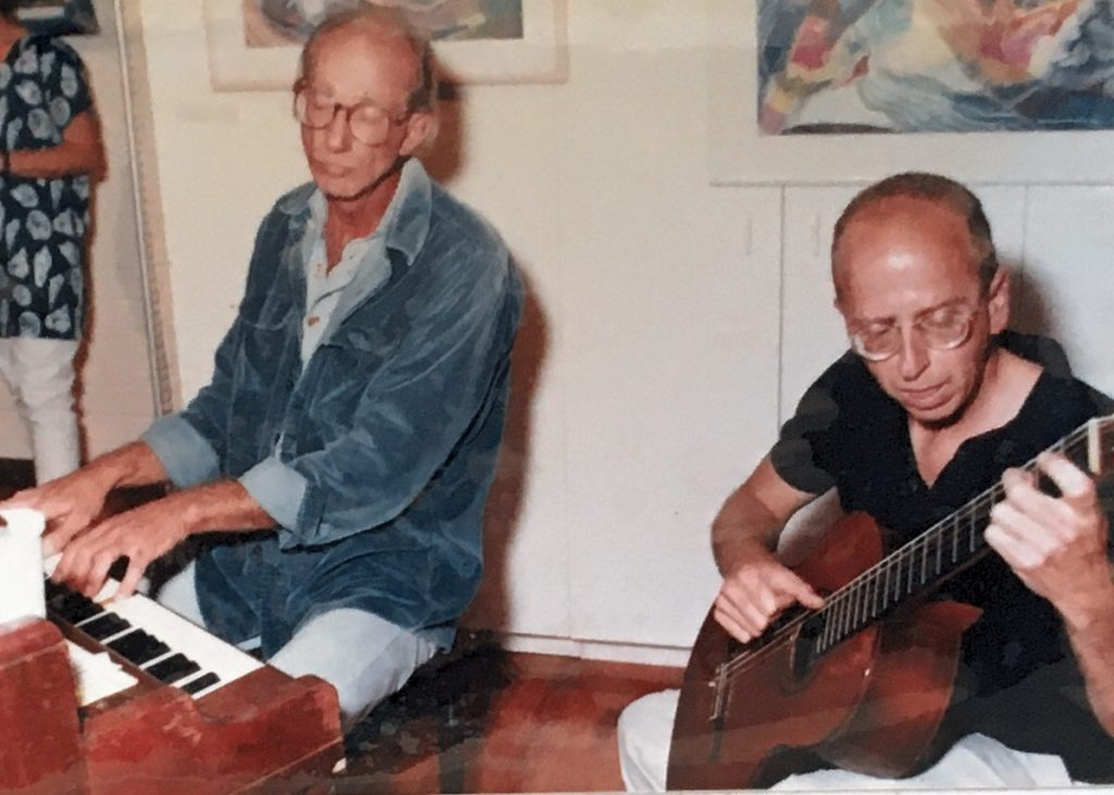 1992-93 - two men playing instruments