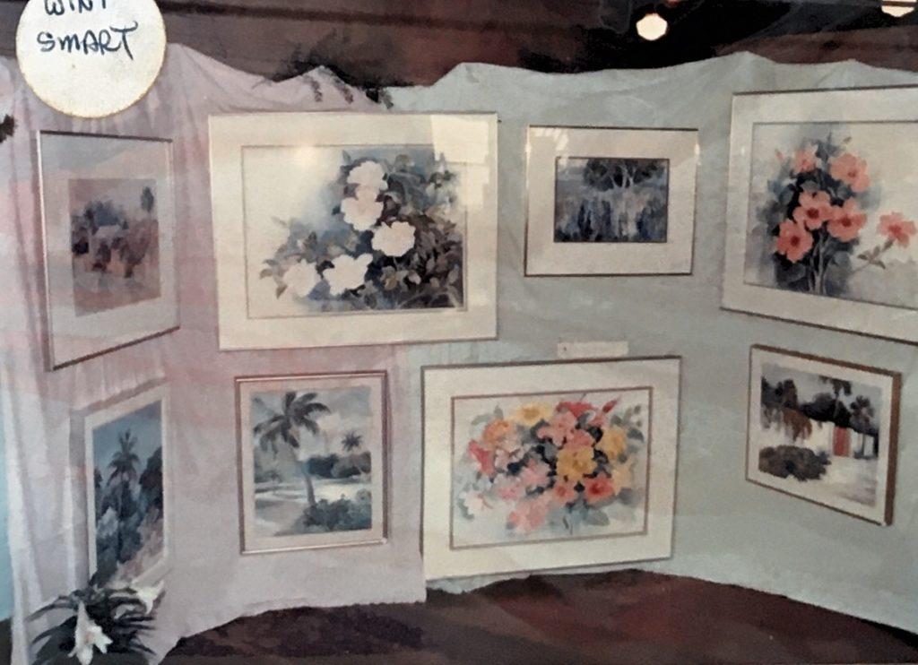 1988-89 art by Wini Smart