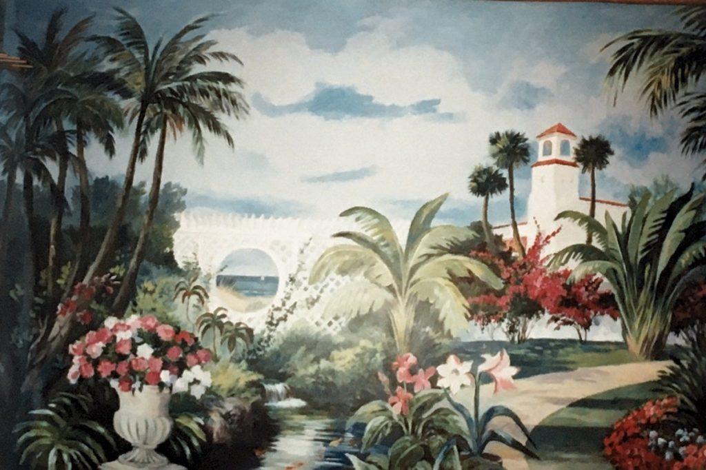 1995 - mural - community center
