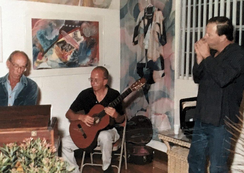 1992-93 - men playing instruments