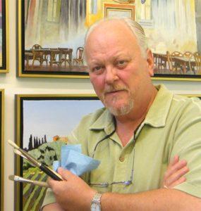 Portrait of Bob Vorel