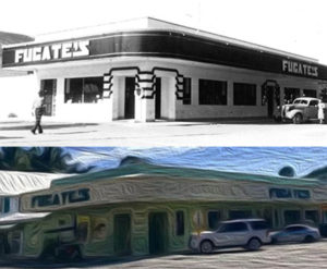 photos of Fugates - then and now